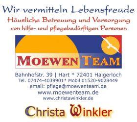 Logo *moewenteam* Christa Winkler