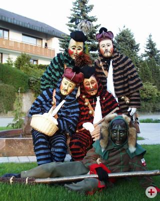 Gruppenbild der Figuren