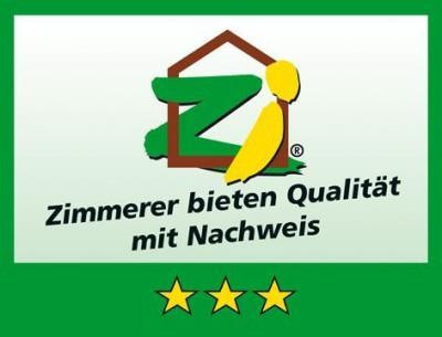Zertifiziert als 3 Sterne Betrieb