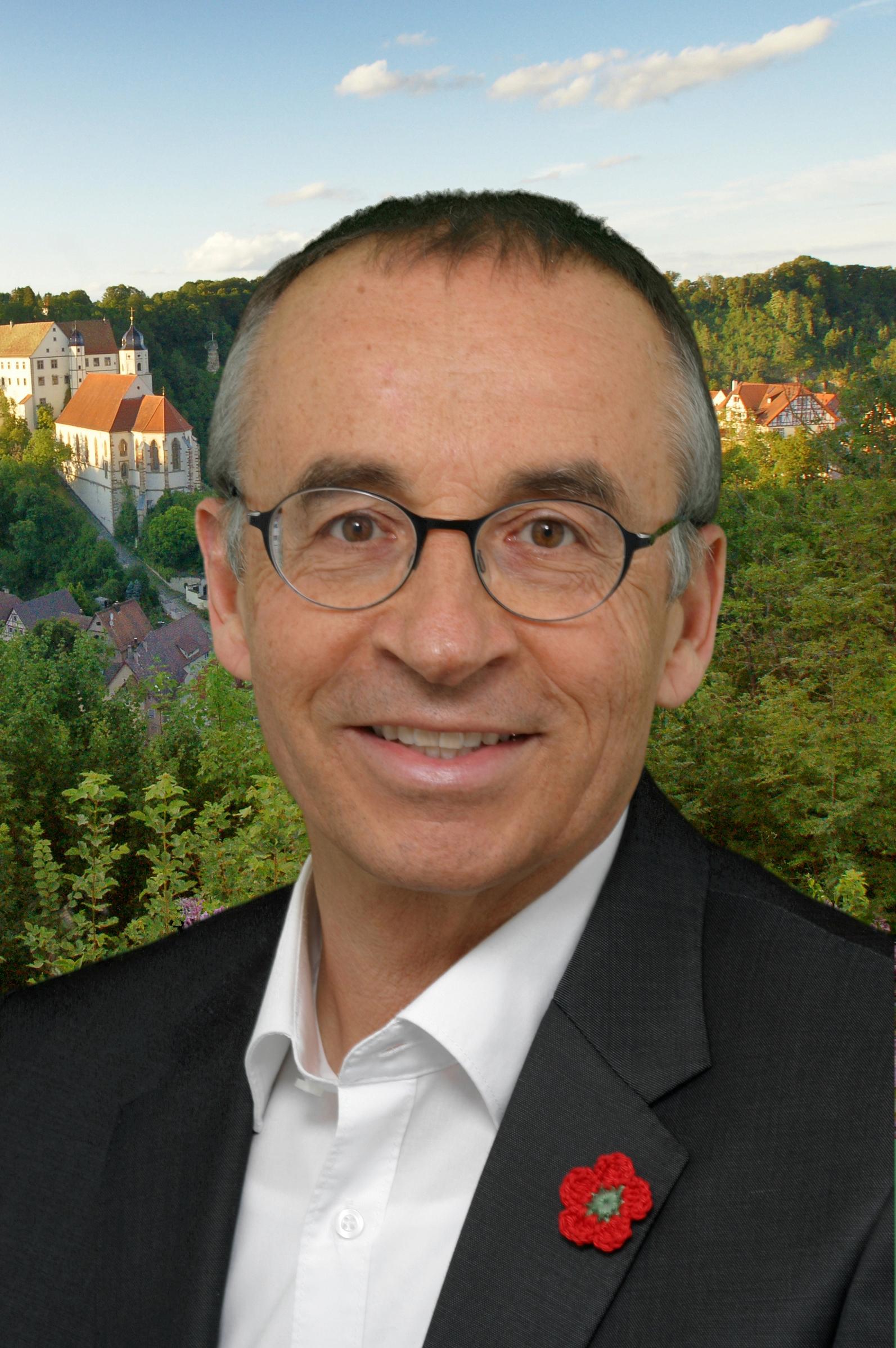 Bürgermeister Dr. Heinrich Götz, Bildnachweis Foto Weber Haigerloch
