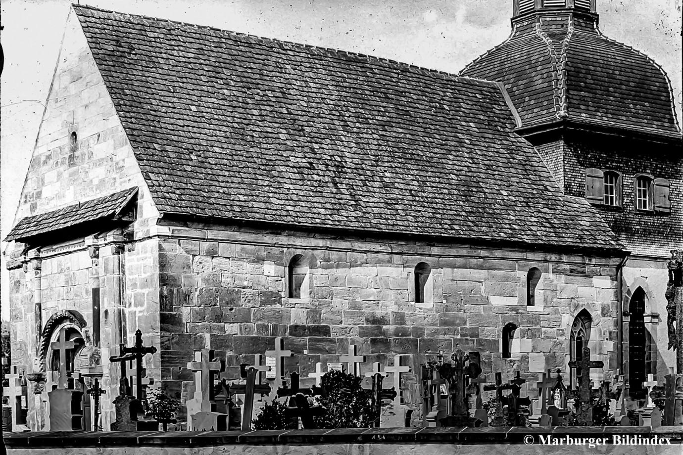 Friedhof Südseite um 1930