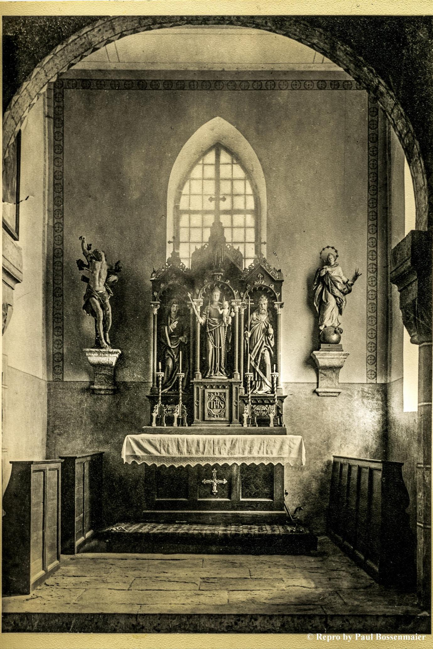 Chor bis 1926